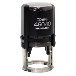 """Оснастка GRAFF 46040 """"HUMMER"""" d 40 мм черная с футляром"""