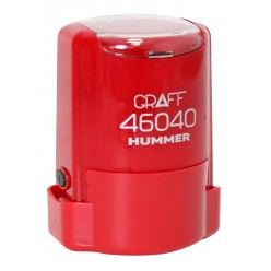 "Оснастка GRAFF 46040 ""HUMMER"" d 40 мм красная с футляром"