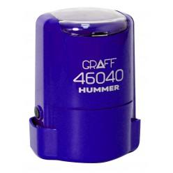 """Оснастка GRAFF 46040 """"HUMMER"""" d 40 мм сиреневая с футляром"""