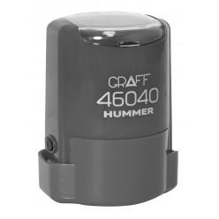 """Оснастка GRAFF 46040 """"HUMMER"""" d 40 мм серая с футляром"""