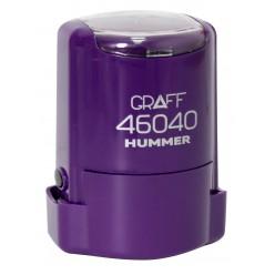 """Оснастка GRAFF 46040 """"HUMMER"""" d 40 мм фиолетовая с футляром"""