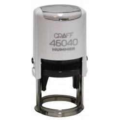 """Оснастка GRAFF 46040 """"HUMMER"""" d 40 мм белая с футляром"""