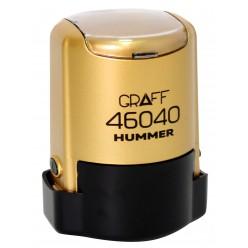 """Оснастка GRAFF 46040 """"HUMMER"""" d 40 мм золотистая с футляром"""