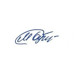 Штамп-подпись (факсимиле) размер 26х9 мм