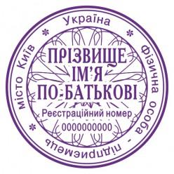 Печать ФЛП F_pr40_1_1